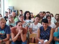 Заседание   клуба «Молодая семья»
