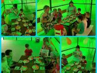 Коллективное  творчество  детей разновозрастной группы  к Дню России