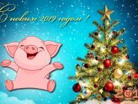 С  наступающим Новым 2019 годом !!!